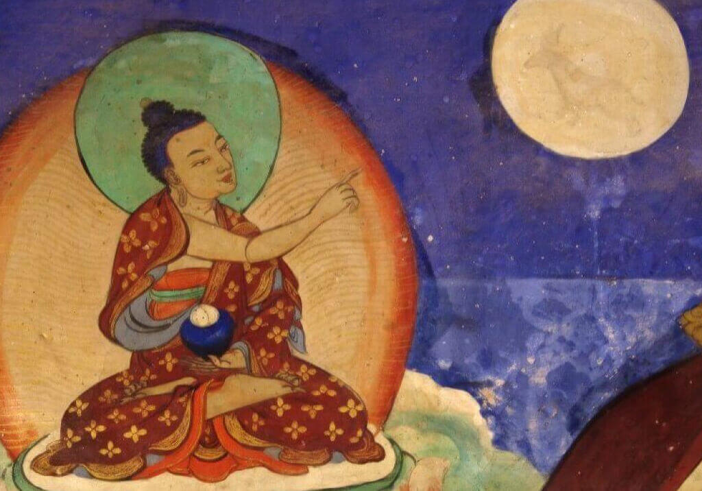 BuddhapointingfingerattheMoon-landscape